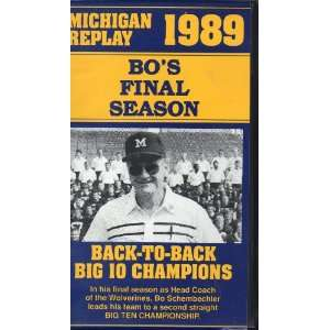Bo s Final Season - Michigan Replay 1989 movie