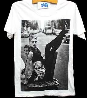 ANDY WARHOL Street Painter Pop Art Model T Shirt S/M