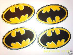LARGE BATMAN DC COMICS LOGO WALLPAPER BORDER CUT OUTS