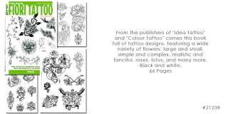 Tattoo Flash Book Flori Tattoo Flowers Roses Lotus Koi
