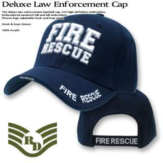 FIRE RESCUE Ball Cap paramedic emt ems firefighter