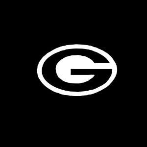 Green Bay Packers Emblem Car Window Decal Sticker White 3