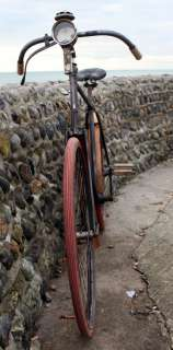 & Cie Original Vintage Safety Bicycle Antique Velo Ancien