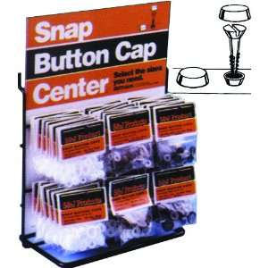 610111 SNAP CAP BLACK 10BG/BX SNAP BUTTON CAPS Sports & Outdoors