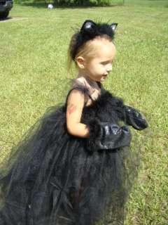 BLACK CAT HaLLoWeeN BOuTiQuE TuTu Costume 2t 3t 4t 5t