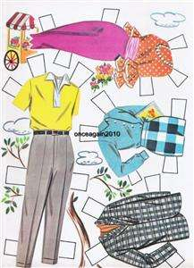 VINTAGE 1961 JULIES WEDDING PAPER DOLLS~#1 TOP REPRO~FREE SHIP ANY 2