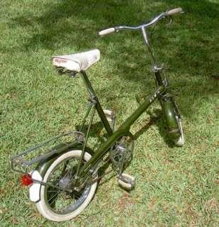 1966 Raleigh Chopper RSW 16 Bicycle Like Moulton Bike