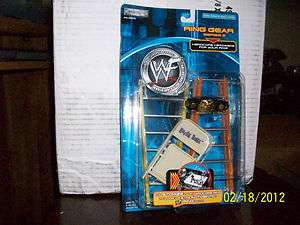 WWE Wrestling accessorie Ladders & chair kit in sealed package