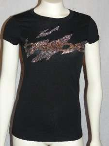 xs*s*m*l* BEAUTIFUL BEBE LOGO tee shirt top *black* tons to choose