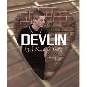 Devlin Premium Guitar Pick x 5 Musical Instruments