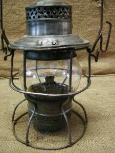 Vintage Union Pacific Railroad Lantern  Antique Old UP