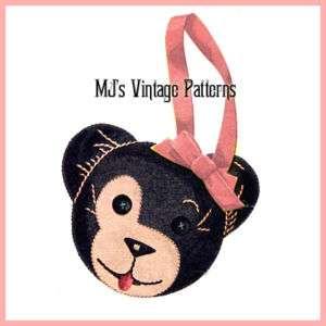Vintage Teddy Bear Purse pattern
