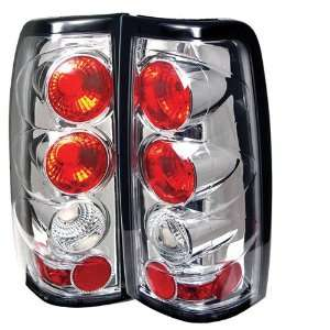 03 04 05 06 Chevy Silverado (except 3500) Altezza Tail Lights   Chrome