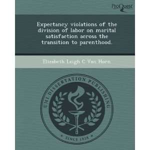 of the division of labor on marital satisfaction across the transition