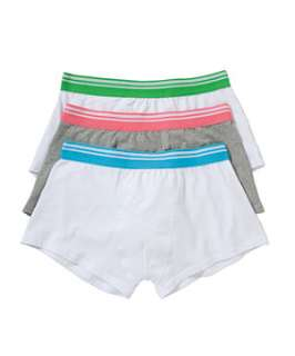 null (Multi Col) 3pk Coloured Waistband Boxers  234331199  New Look