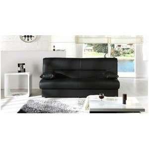 Regata Escudo Black Sofa Bed by Sunset