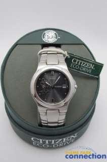 Disney Citizen ECO DRIVE Mickey Mouse Stainless Steel Date Mens Watch