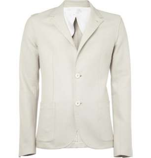 Clothing  Blazers  Single breasted  Unstructured Raw