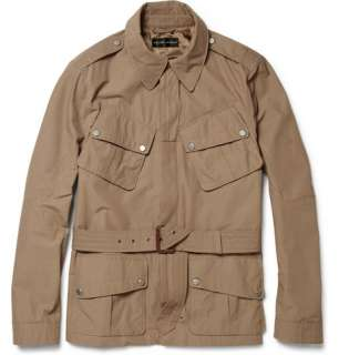 Ralph Lauren Black Label Jump Cotton Blend Field Jacket  MR PORTER
