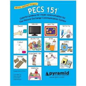 PECS 151 Cards: 2 inch Symbols for Picture Exchange Communication