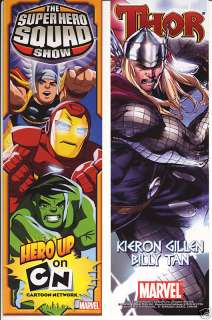 Marvel Super Hero Squad & Thor D/S Promo Bookmark NEW