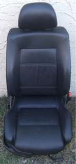 BLACK LEATHER SEAT PACKAGE VW GOLF JETTA 93 99 4 DOOR HEATED MK3 FRONT