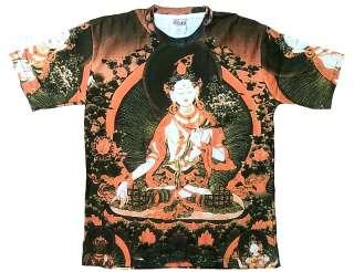 TARA Shiva Tibet Gott Tattoo Art Designer T Shirt L/XL