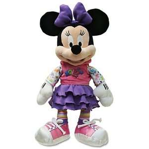 Disney 2012 Minnie Mouse Plush   12 Toys & Games