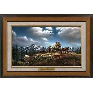 Master Stroke Collection Canvas Framed Wood Grain: Home & Kitchen
