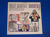 DEAN MARTIN Houston MONO 1965   Record Album Vinyl LP