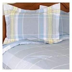 Nautica Hamilton Full / Queen Duvet Comforter Cover Blue