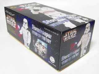 1990 TIN AGE Vintage Rare JAPAN Billiken Star Wars Storm Trooper Tin
