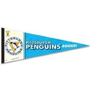 NHL Pittsburgh Penguins Pennant   Premium Felt XL Vintage