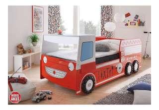 Kinder Feuerwehr Bett Kinderbett Autobett Spielbett Bett