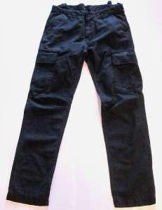 Vintage Collection LVC indigo military cargo pants 36 X 34 NWT |