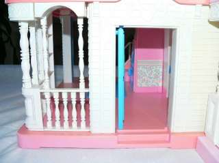 Huge VICTORIAN Doll House Front Porch Sun Deck Figures 1994 EXTR RARE