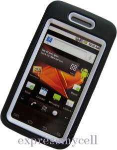 Screen + BK WT Impact Armor Bundle Case Cover SAMSUNG GALAXY PRECEDENT