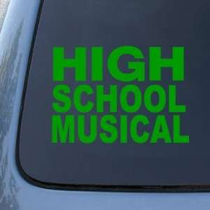 HIGH SCHOOL MUSICAL   Vinyl Car Decal Sticker #A1606  Vinyl Color