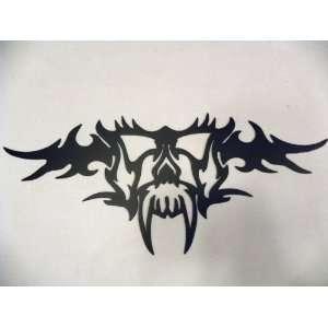 Tribal Skull Metal Wall Art Decor Home & Kitchen