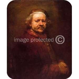 Artist Rembrandt Art Self Portrait MOUSE PAD Office