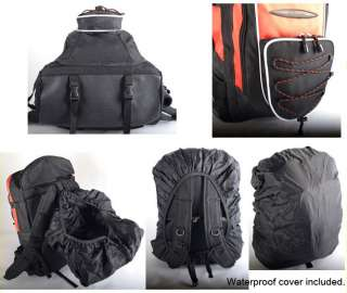 Fishing Backpack Multi purpose system Bag   Waterproof cover included