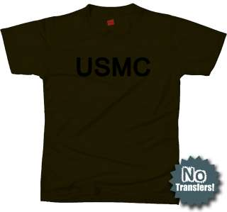 USMC US Marine Corps PT Cool New Military T shirt