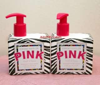 Victorias Secret PINK Fresh & and Fierce Body Lotion x 2 x2 RaRe 16