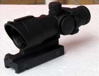 NEW OEm ACOG style 4x32 RIFLE SCOPE COMPACT MIL DOT TACTICAL RIFLE