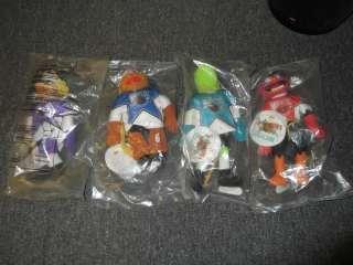Jim Hensons Muppets NHL Plush Toys Set of 4 McDonalds