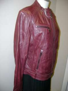 Andrew Marc New York Leather Mandy Jacket L NWT $540