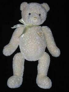 Baby Gund Cream Yellow First 1st Teddy Bear Plush Lovey 58014 Lovie