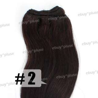 100g Remy Real Curly Human Hair Body Wave Hair Weaving Weft Extensions