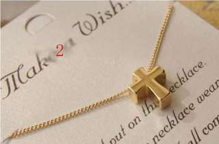Jewelry Small chili golden peace sign wishing pendant necklace