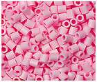 1000 Perler Iron on Fuse beads NEW Light Pink Color
